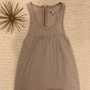 Like New American Eagle Tan / Cream Tank X-Small